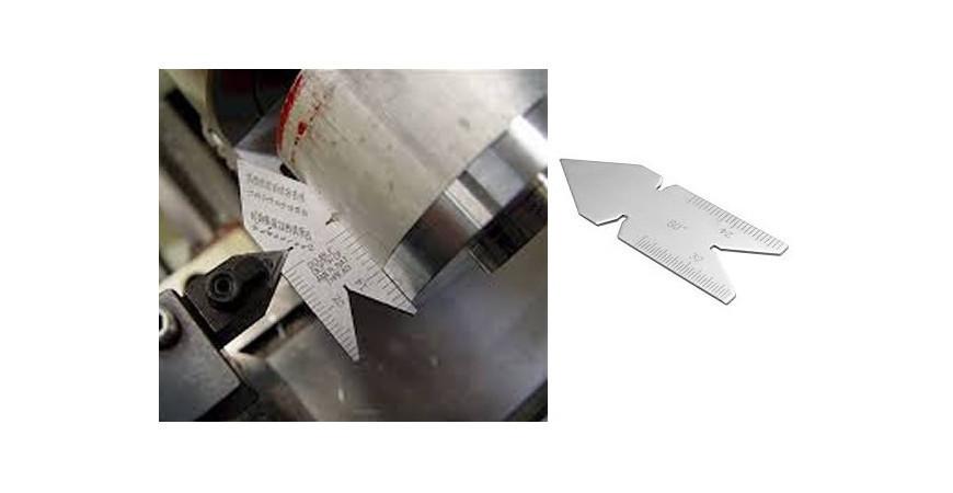 شیوه استفاده از نشانگر (گیج ) تیغچه گام تراش