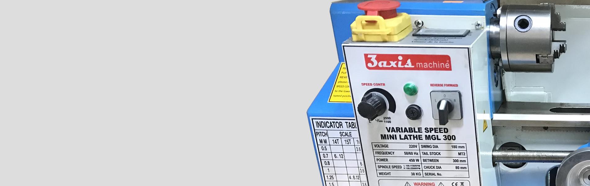 ماشین تراش های گوناگون برای کاربرد های خانگی و مهندسی